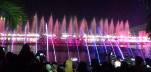 Air Mancur menari purwakarta menjadi yang terbesar di asia tenggara