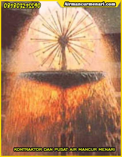 Air mancur mini dengan crystal ball water curtain murah