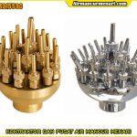 Nozzle adjustable blossom stainless steel dan kuningan murah