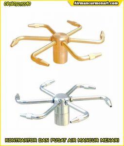 Nozzle air mancur murah rotating berkualitas di surabaya