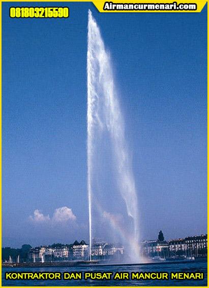 Pengaplikasian nozzle air mancur murah superhight fountain nozzle