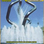 Jual Ice Tower Nozzle Kuningan dan Stainless untuk air mancur