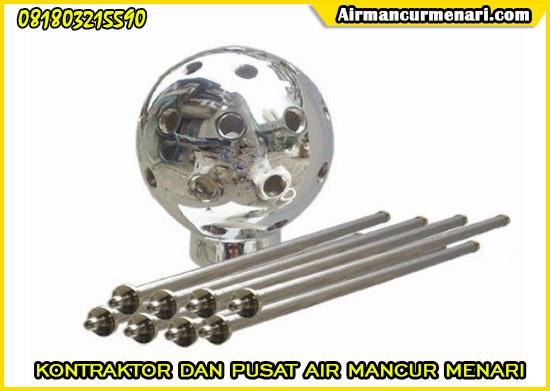 Supplier Nozzle air mancur crystall ball nozzle murah