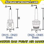 Single shooting nozzle air mancur murah Dan Berkualitas