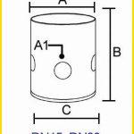 Pembuatan air mancur mini dengan cup bubble nozzle